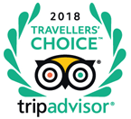 trip advisor travellers choice award 2018